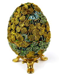 Clover Faberge Style Egg