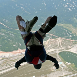 Solo Skydive Training Program  -  Accelerated Free Fall