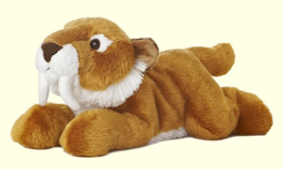Stuffed Sabre Tooth Tiger