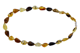 Multi Color Amber Necklace