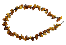 Honey Amber Chip Necklace