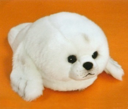 Stuffed Baby Seal Slippers